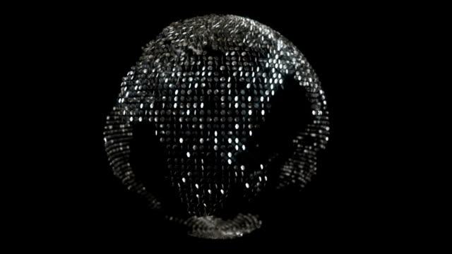 Glittering world - loopable video