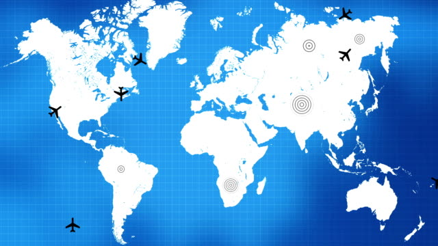 Global Air Travel video