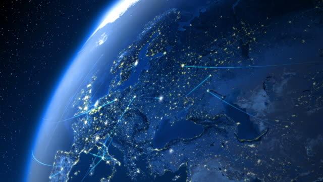 Global communications. Europe.