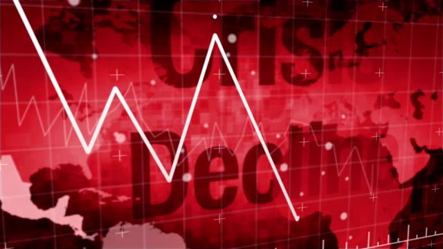 グローバルの危機 - 経済点の映像素材/bロール