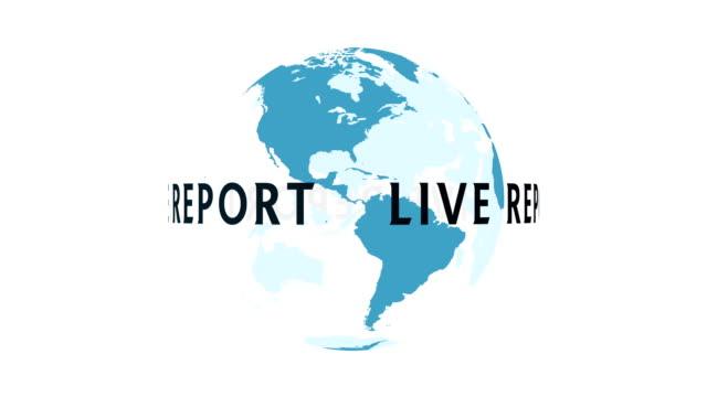 Global live report video