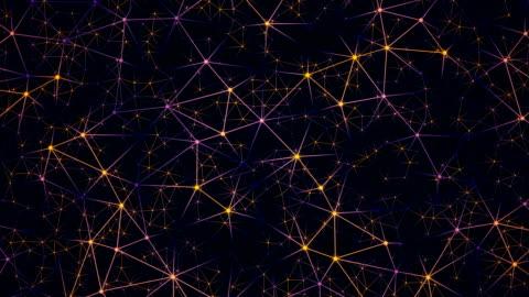 globales netzwerk im digitalen cyberspace. finanziellen oder sozialen hintergrundanimation - blockchain stock-videos und b-roll-filmmaterial