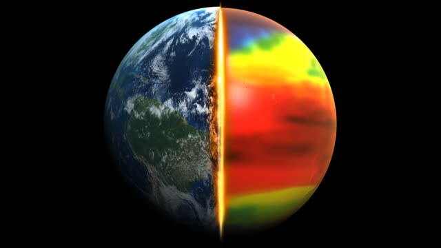 riscaldamento globale 1080 p - anidride carbonica video stock e b–roll