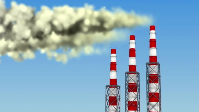 Global Warming Animation video