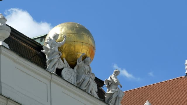 Globe and Antiquity Muses Statues video