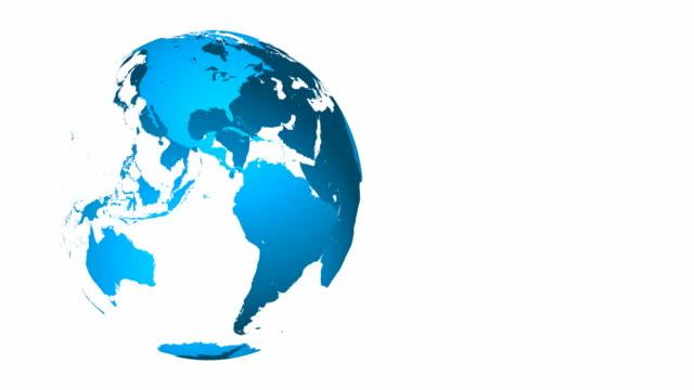 4K Globe Animation - Loopable video