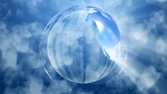 Globe Background video