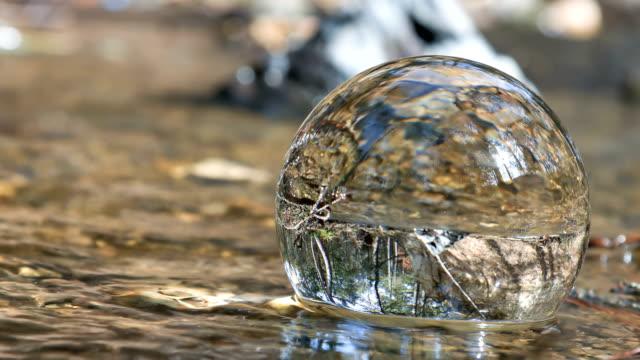 Globe In Water video