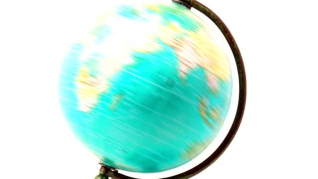 Globe map video