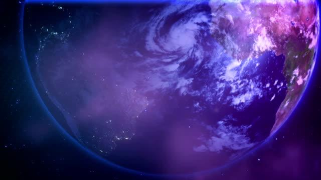 Globe zoom Communication video