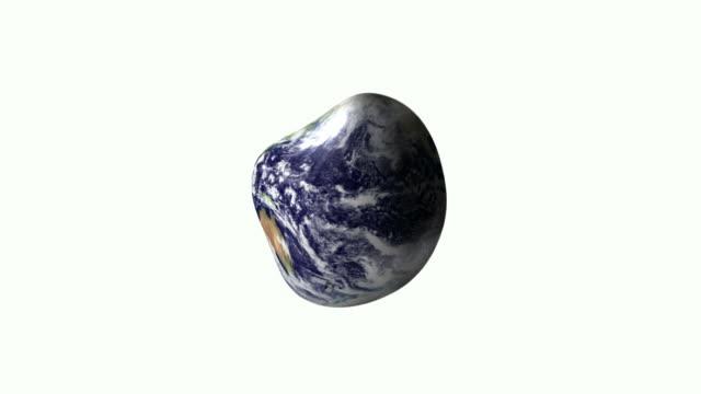 Globular earth video
