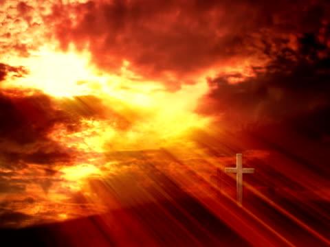 Glory of God. Loop - PAL video