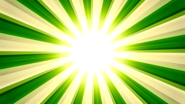Glossy Light Rays Green Retro sunburst backgrounds animations suited for broadcast, commercials and presentations. They can be used also in Celebration, Party and Birthday or New Year animations. {{relatedSearchUrl(carousel.phrase)}} stock videos & royalty-free footage