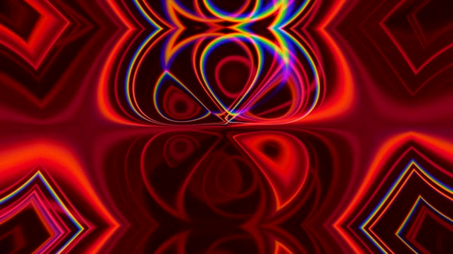 glow motion illusion trance red abstract lights