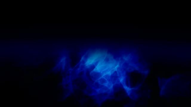 stockvideo's en b-roll-footage met gloeiend blauw licht en schaduwen - depth vector