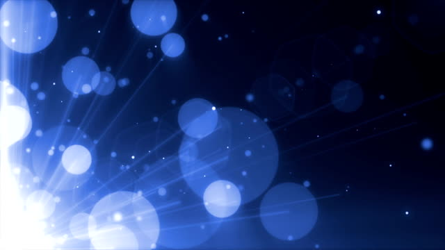 Glowing blue spheres, holiday background Glowing blue spheres, holiday background circa 4th century stock videos & royalty-free footage