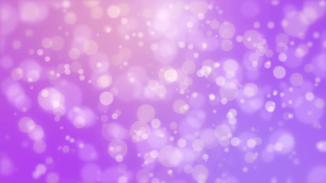 Glowing festive purple background with flickering lights video