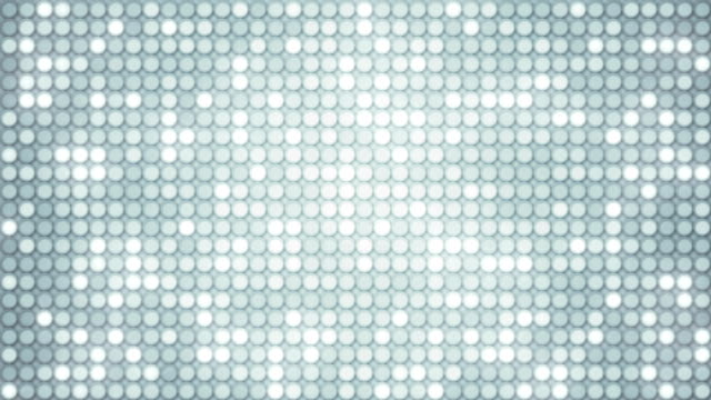glowing glitter mosaic loopable background video