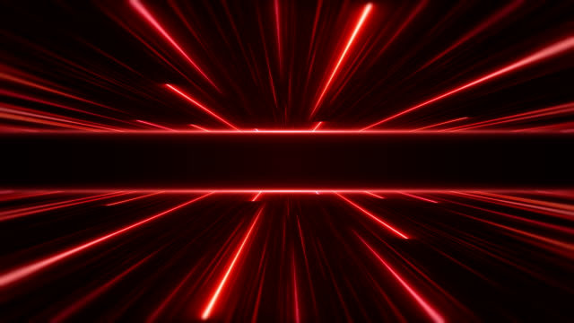 Glowing Neon Lights - Loopable Retro Style Abstract Backgrounds laser stock videos & royalty-free footage