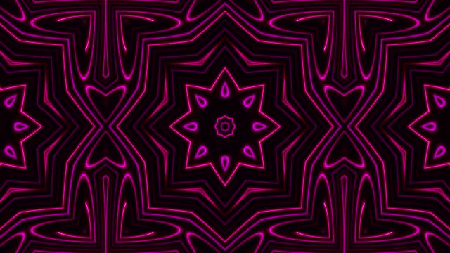 vidéos et rushes de néons lumineux - bouclables - psychédélique