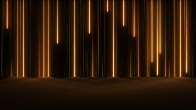 Glowing Neon Lights - Loopable Falling Lines Abstract Backgrounds laser stock videos & royalty-free footage
