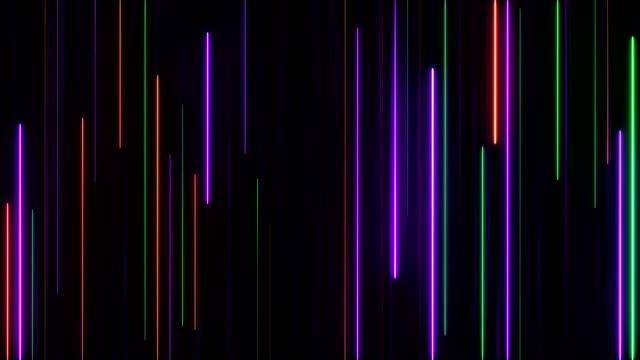 stockvideo's en b-roll-footage met gloeiende neon verlichting - visuele hulpmiddelen