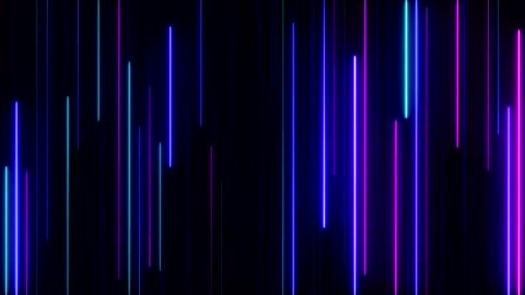 parlak neon ışıkları - background stok videoları ve detay görüntü çekimi