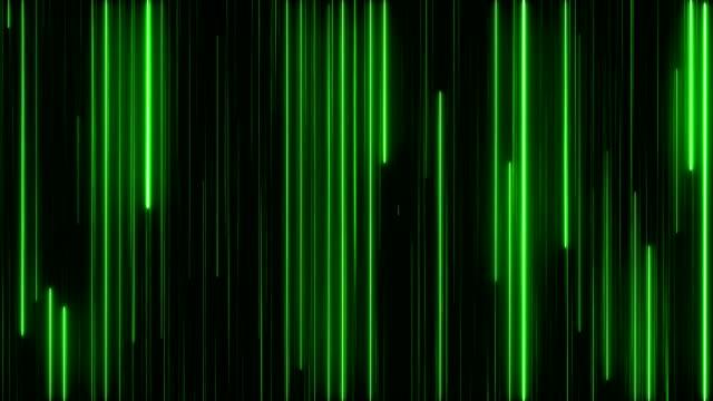 glowing neon lights - zielony kolor filmów i materiałów b-roll