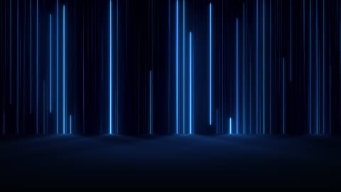 vidéos et rushes de néon lumineux - en rang
