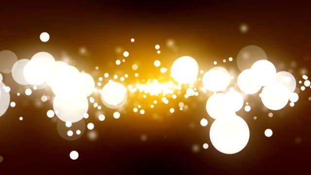 輝く粒子ブルー(ループ) - キラキラ 白背景点の映像素材/bロール