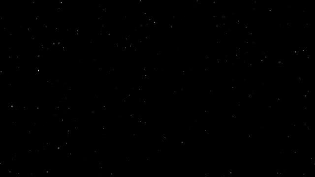 暗闇の中で光る粒子 - 雪点の映像素材/bロール