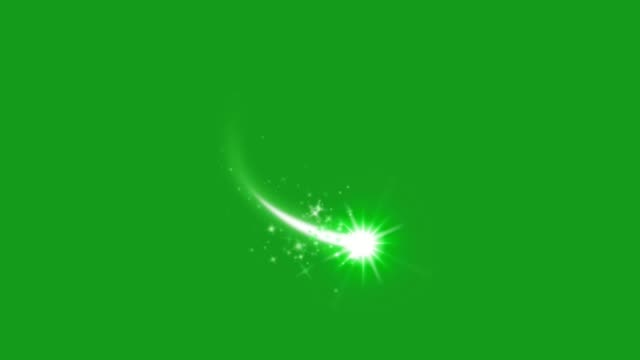 glowing star motion graphics with green screen background - cena di natale video stock e b–roll