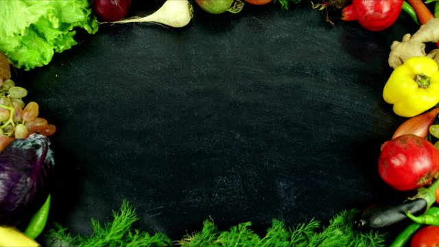Detener el movimiento de frutas libres de gluten - vídeo