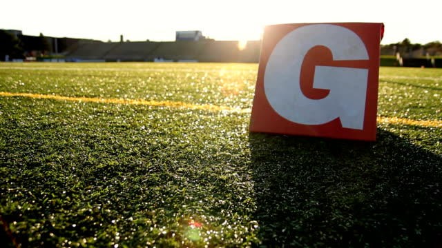 goal line sundown - high school stock videos and b-roll footage