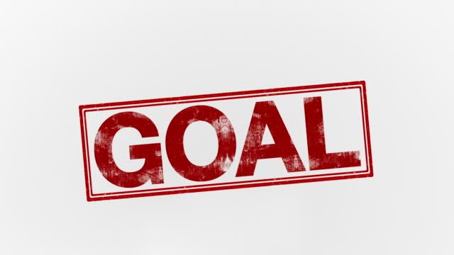 goal goal text goal post stock videos & royalty-free footage