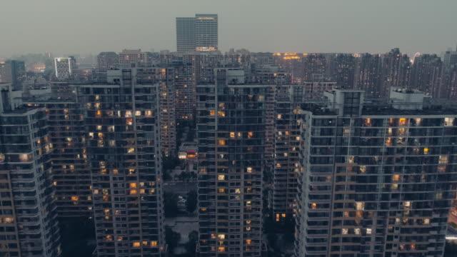 going between buildings - appartamento video stock e b–roll