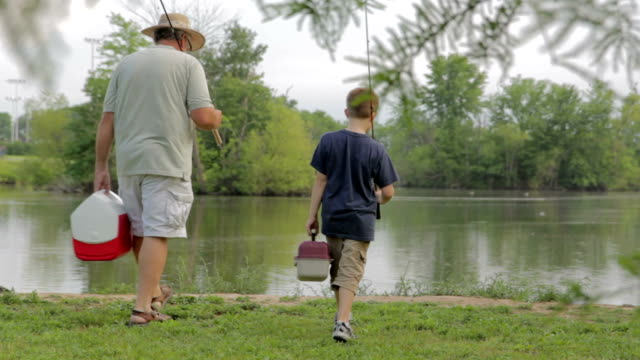 Going Fishing with Grandpa video