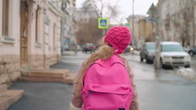 Going home from school video