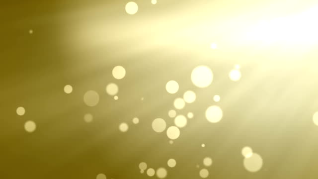 gold abstract background with bokeh defocused lights video