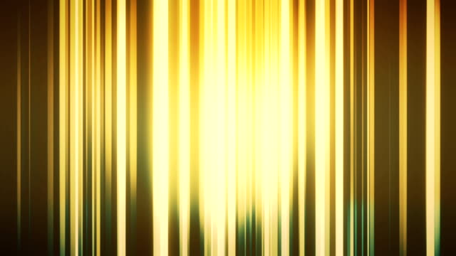 Gold abstract vertical lines loopable background footage