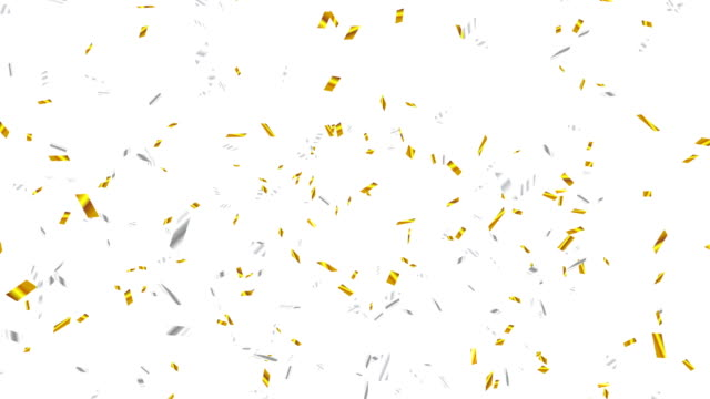 Gold and Silver Confetti Explosion video