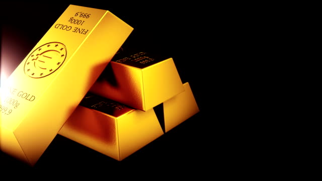 Gold Bar Loopable Gold Bar Loopable gold bars stock videos & royalty-free footage