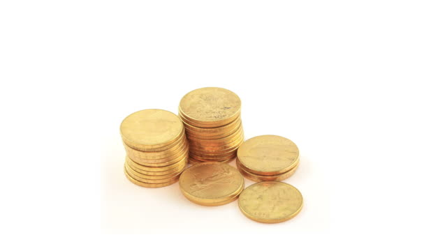 Gold Coins - HD Video video