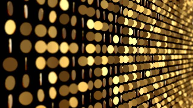 altın desen - glitter etkisi (loop 4k) - gold texture stok videoları ve detay görüntü çekimi