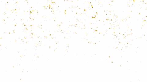 gold konfetti explosion. - konfetti stock-videos und b-roll-filmmaterial