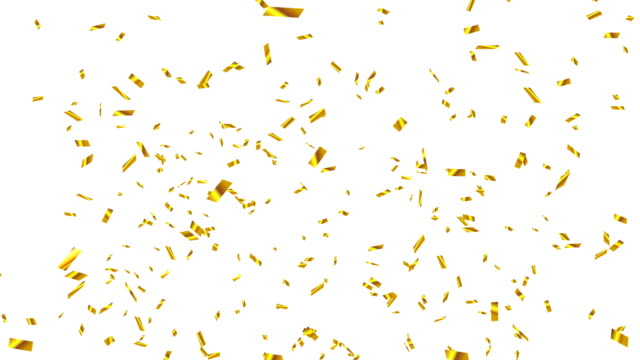 Gold Confetti Explosion video