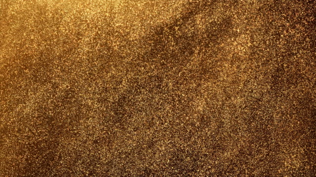 gold glitter - loop - gold stock videos & royalty-free footage