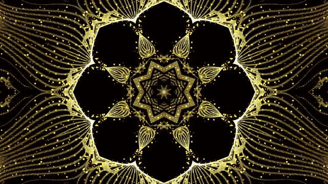Gold Kaleidoscope Loop