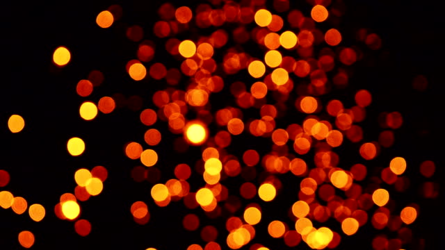 Gold Particles Twinkling Loop
