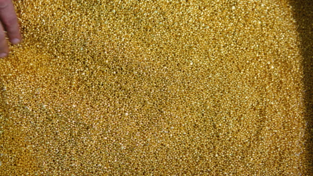 Gold Particles video